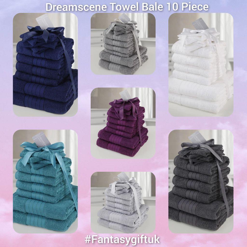 Dreamscene towel bales