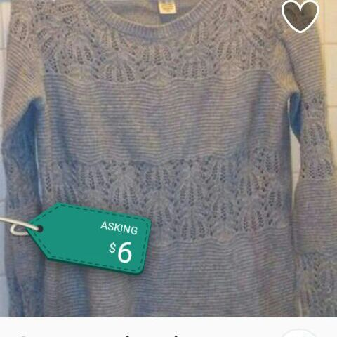 Gray woven shirt