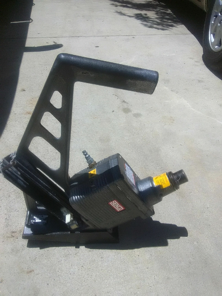 Air inpack nail gun it goes for 660 on eBay but I'm selling it
