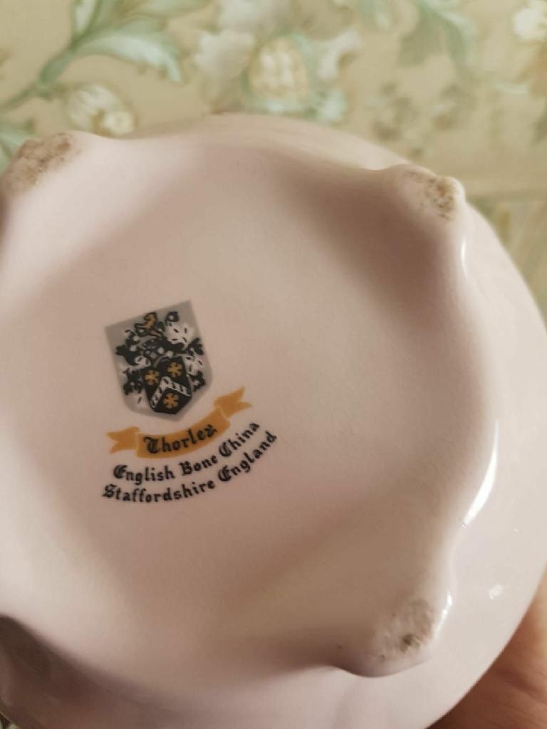 Chorley flower China bowls x 4