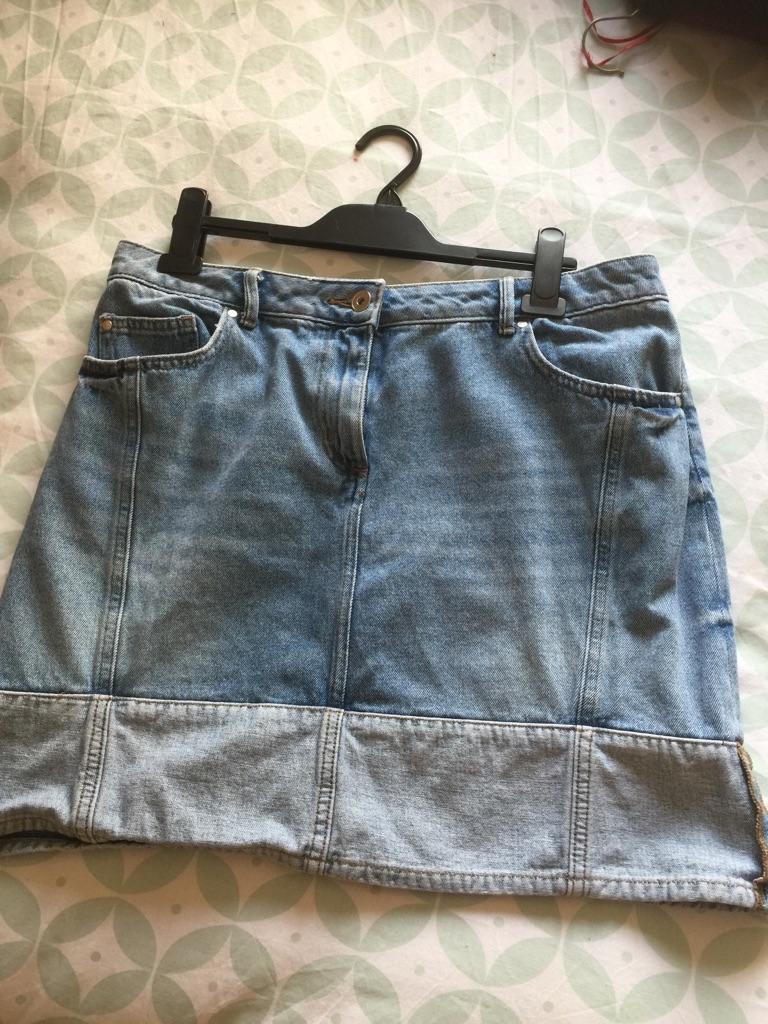 Size 14 denim skirt from TU