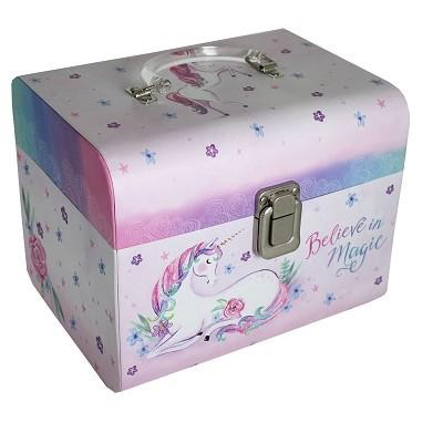 Set of two unicorn carry cases