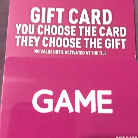 £30 Game Voucher