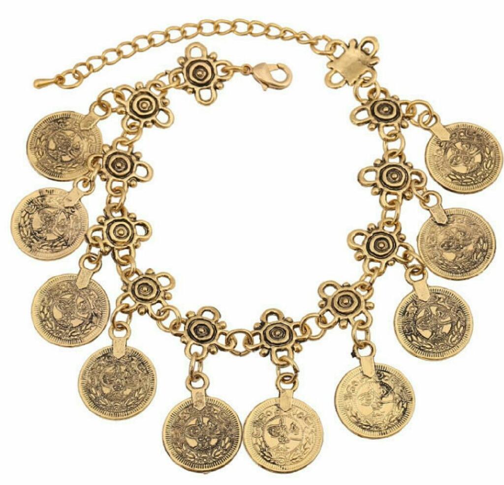 Antique gold plated stylish  bracelet