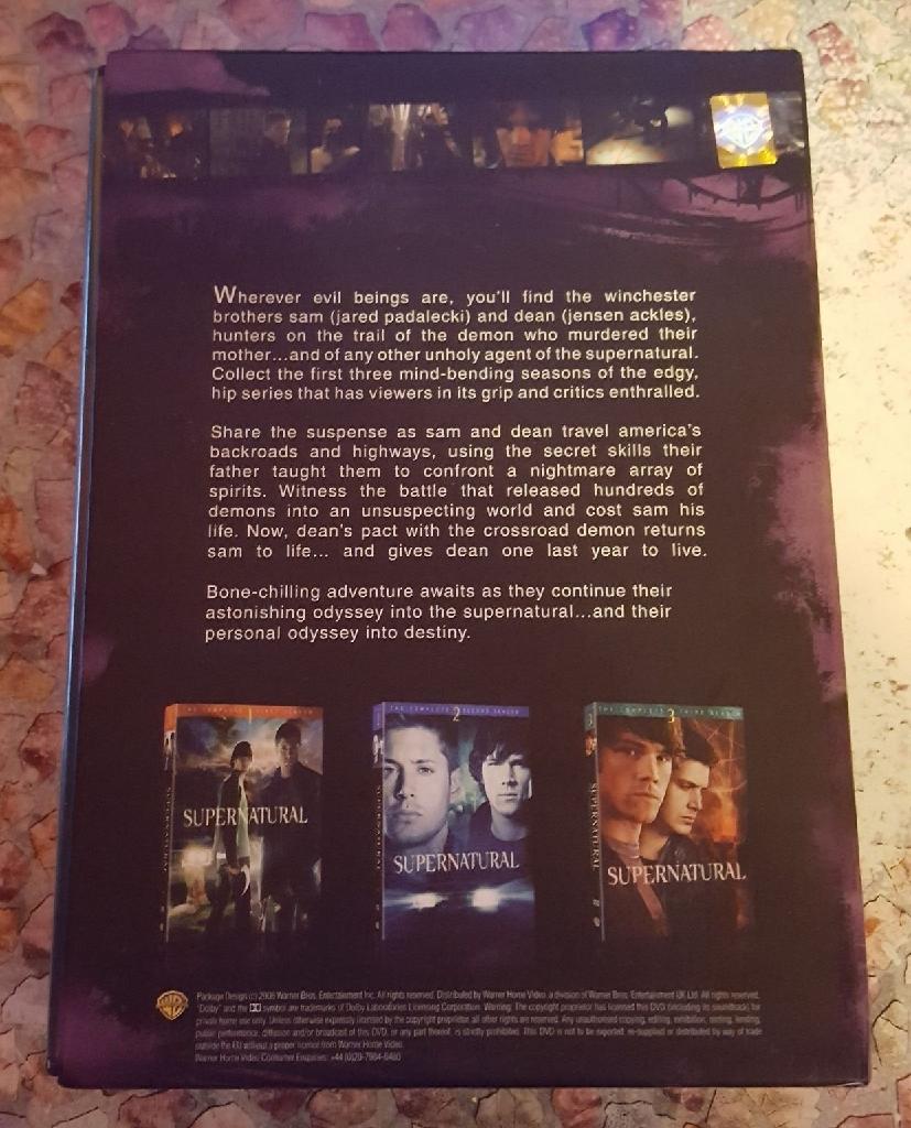 Supernatural DVDs