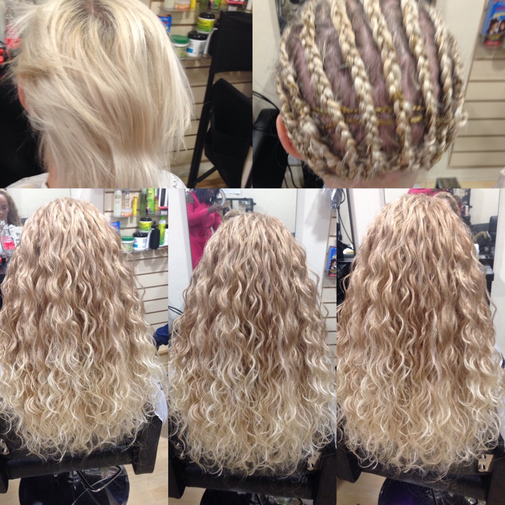 Hair extensions fitting and sales
