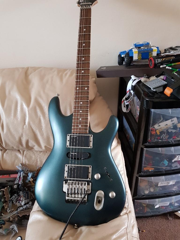 IBANEZ ERGODYNE Racing Green Guitar