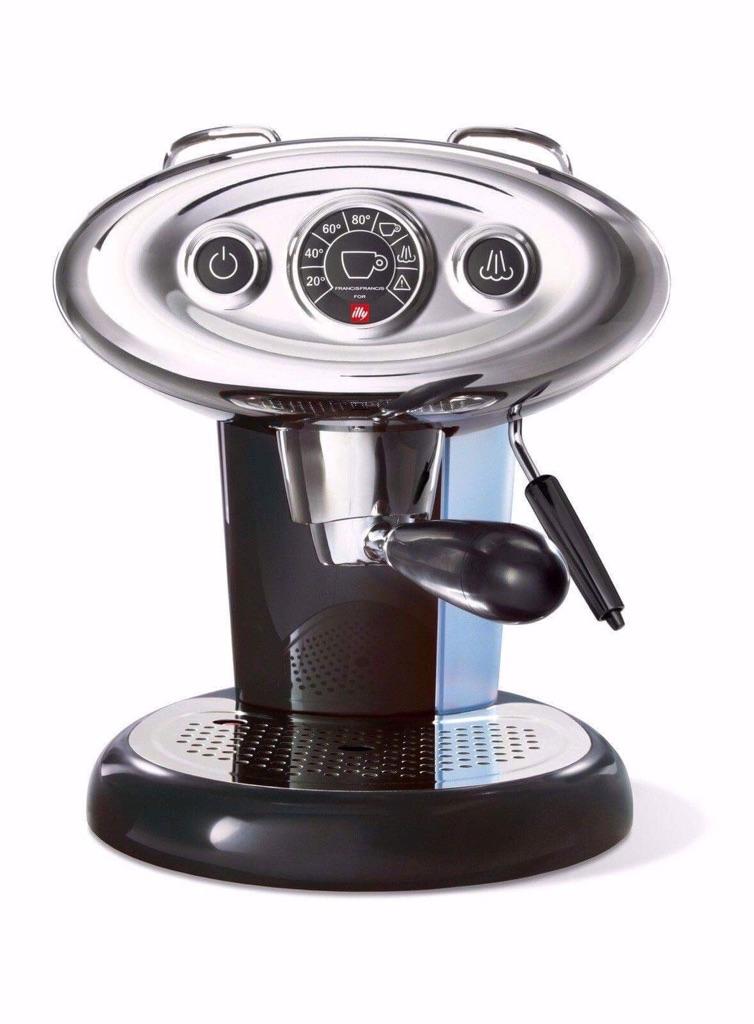 Illy FrancisFrancis X7 Espresso Machine, Like New +original box