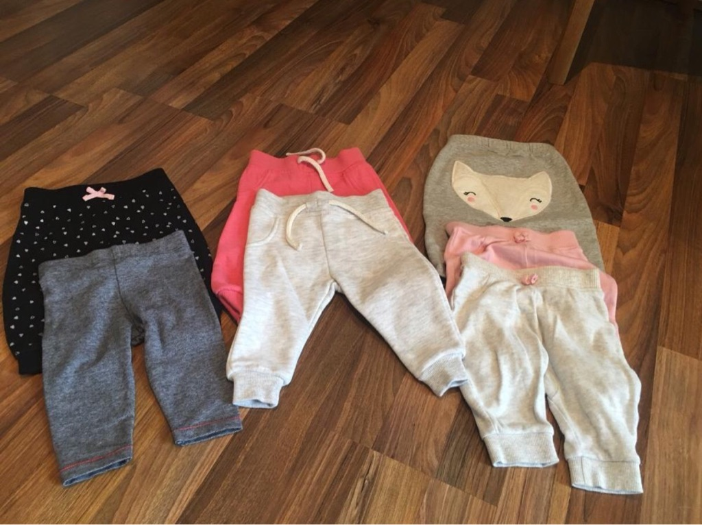 3-6 months baby girl trousers
