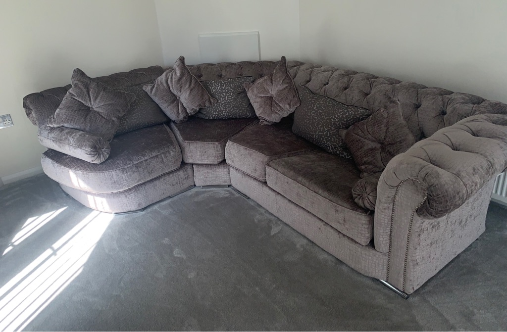 Chesterfield sofa & armchair