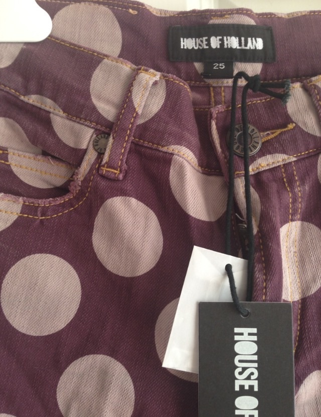 New - House of Holland Jeans