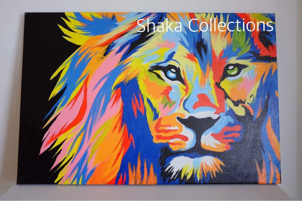 Colorful lion(selling prints)