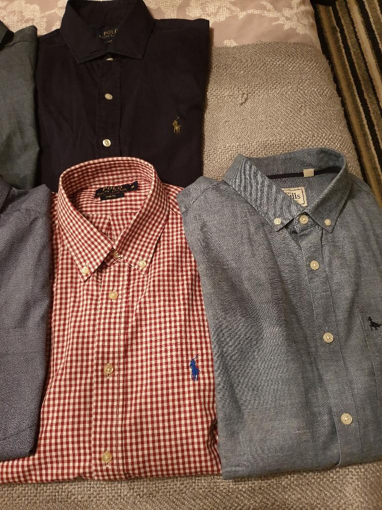 Mens designer shirts size medium