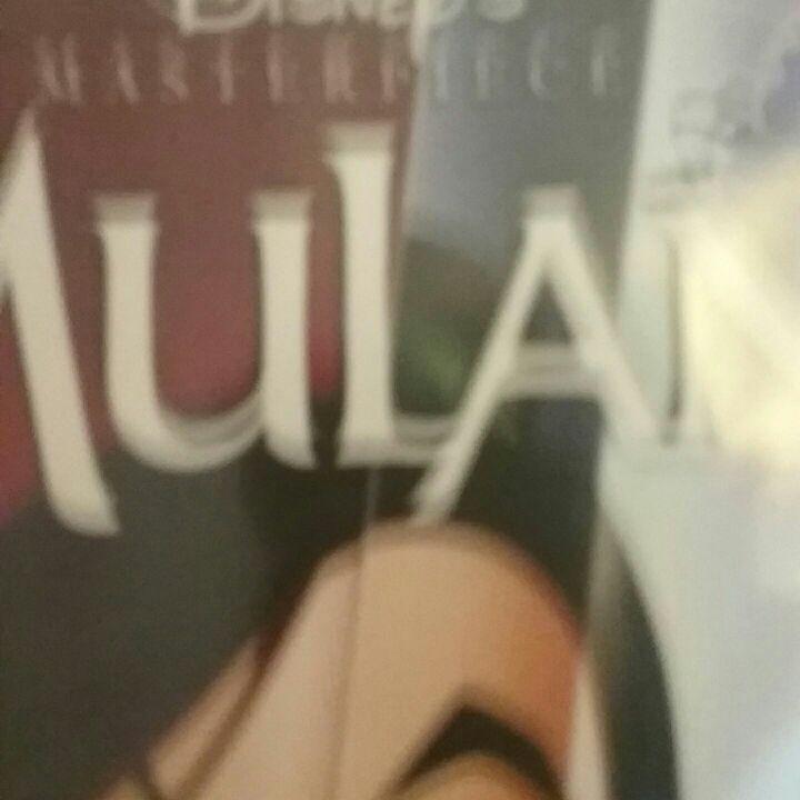 Mulan vhs masterpiece collection