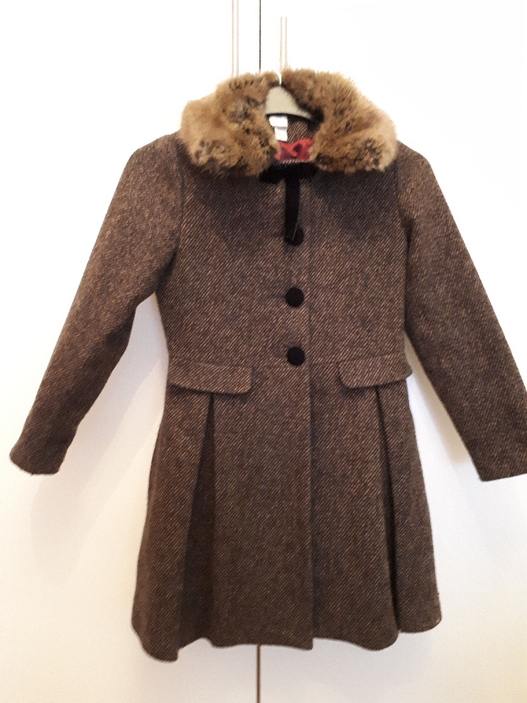 Monsoon girls coat age 12-13