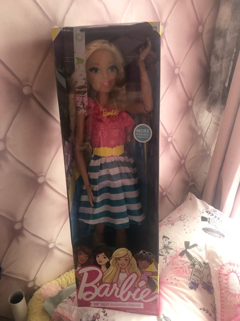 Big Barbie doll