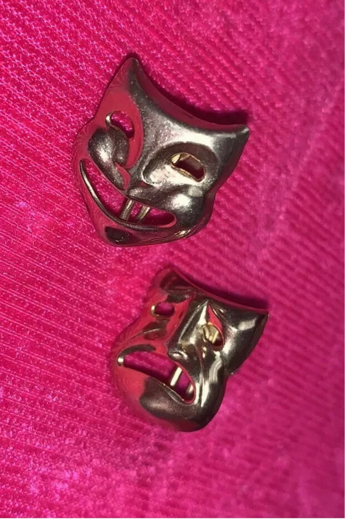 1940's Vintage Drama Earrings