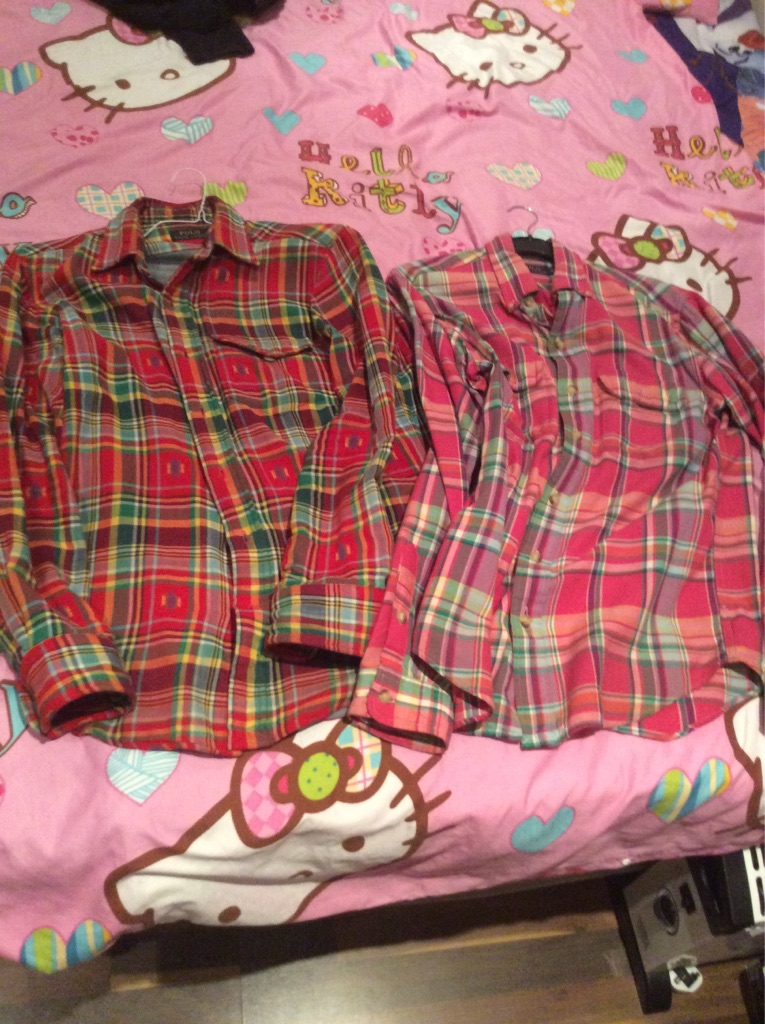 2 Ralph Lauren Custom Fit Shirts
