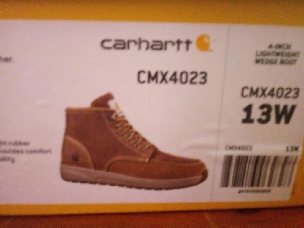 Brand New Carhartt Boots
