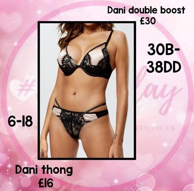 Dani Bra and Thong
