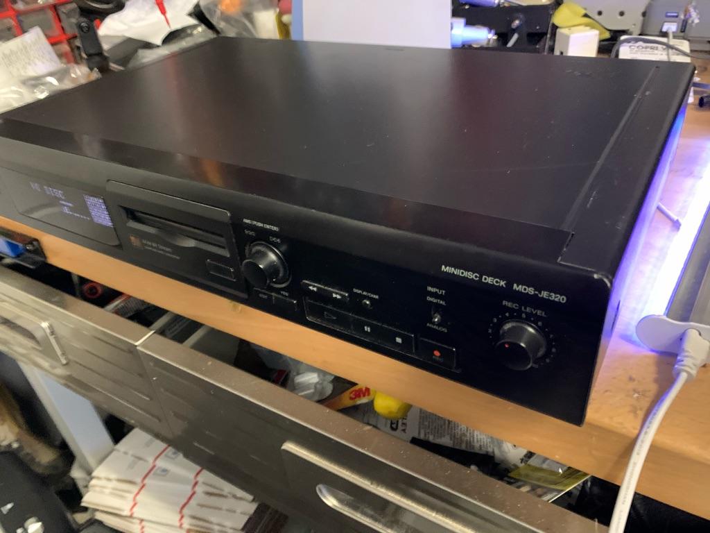 Sony minidisc recorder player