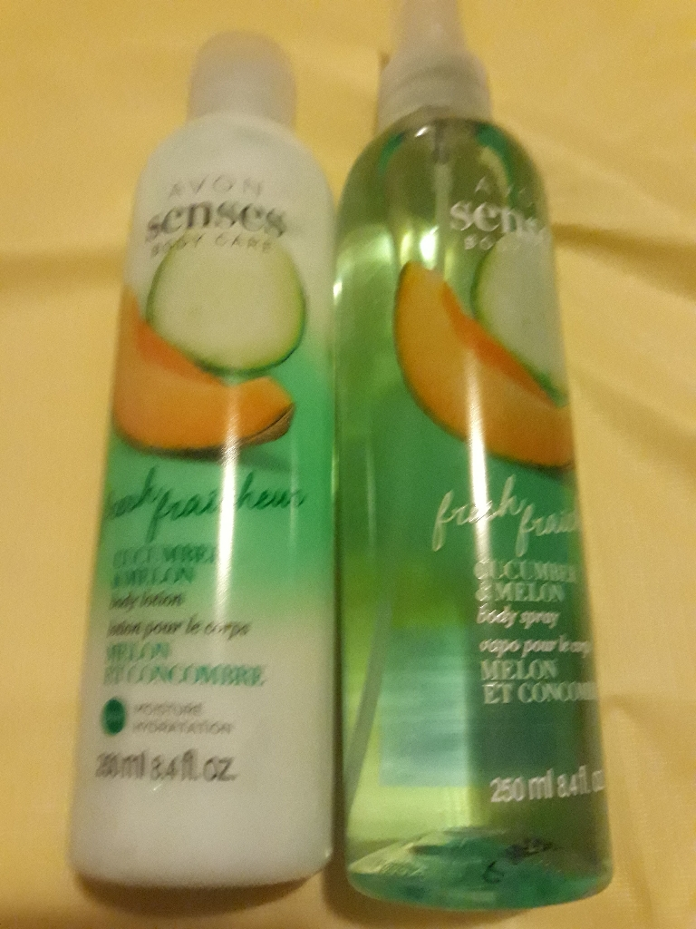 Avon senses cucumber &melon