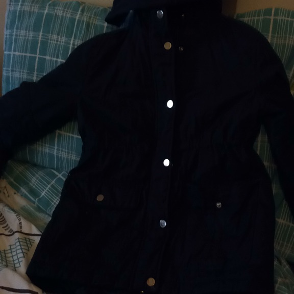 Navy blue school coat
