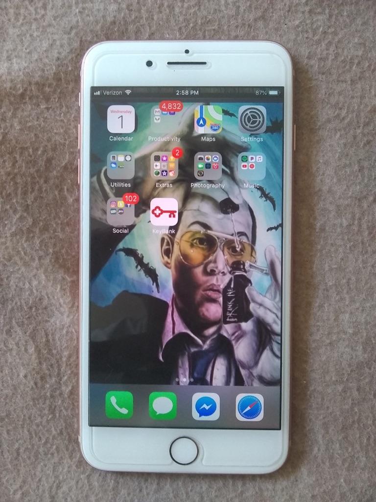 Verizon IPhone 8 Plus 256gb