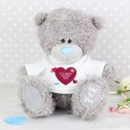 Personalised me to you valentines bear