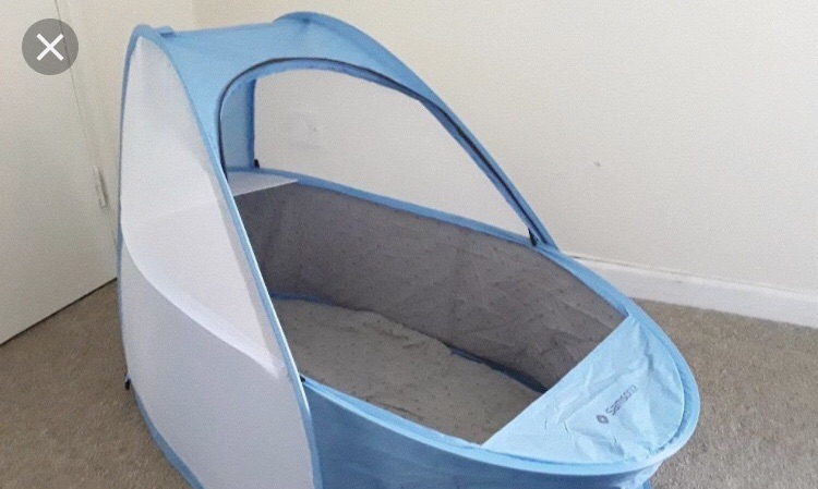 Baby travel basket/bed