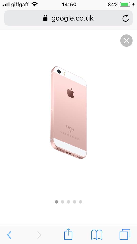 iPhone we rose gold