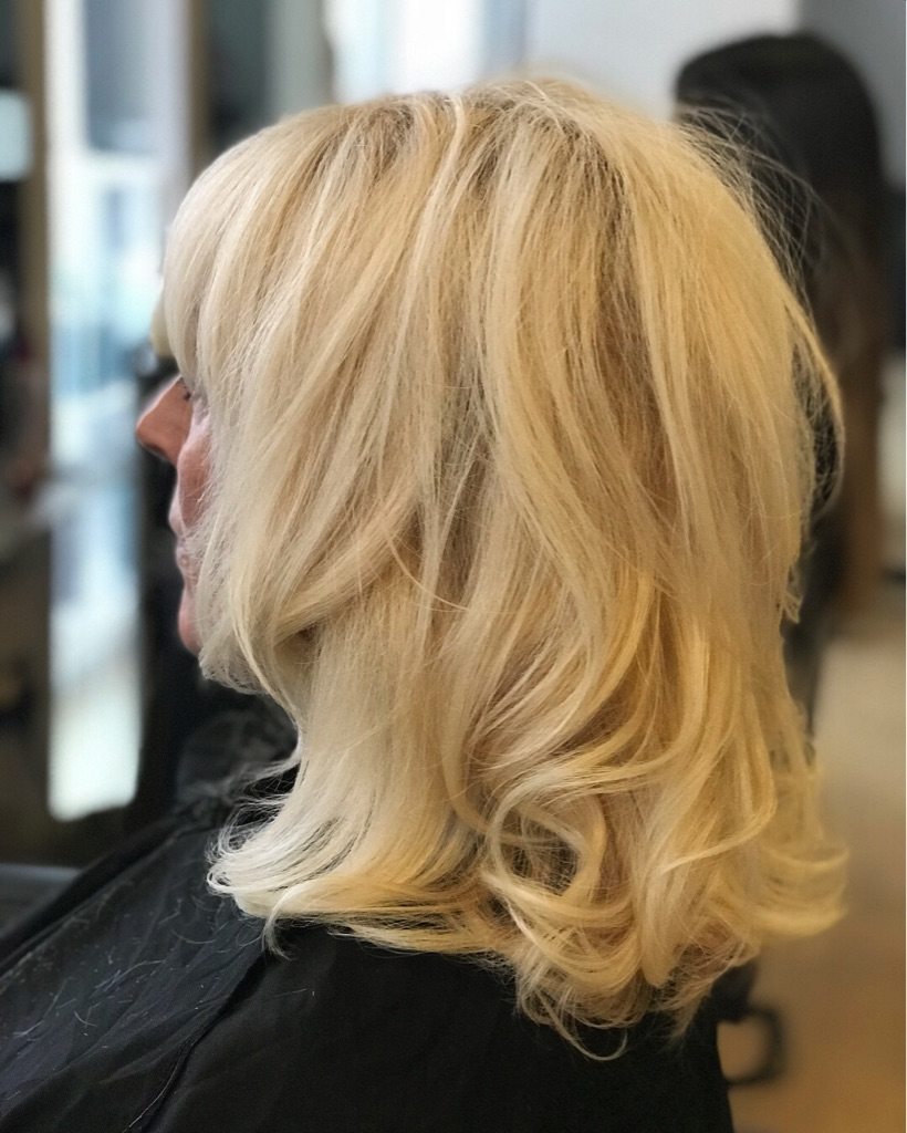 Cut and blow dry Free of charge.