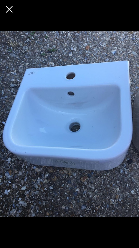 REDUCED Sink and Pedestal NOW £30