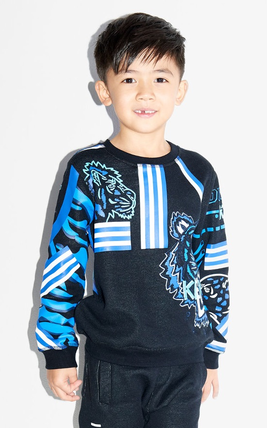 KENZO Tiger Junior Friends Sweatshirt