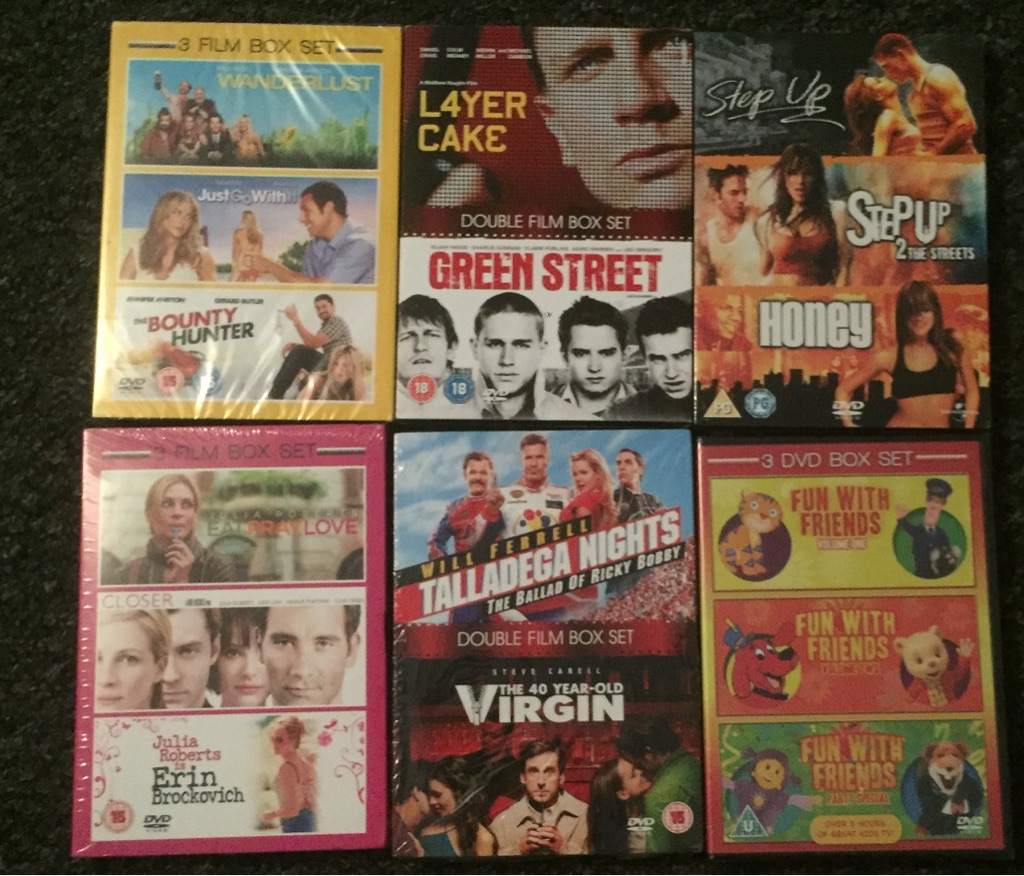 X6 Dvd boxsets Brand New And factory sealed