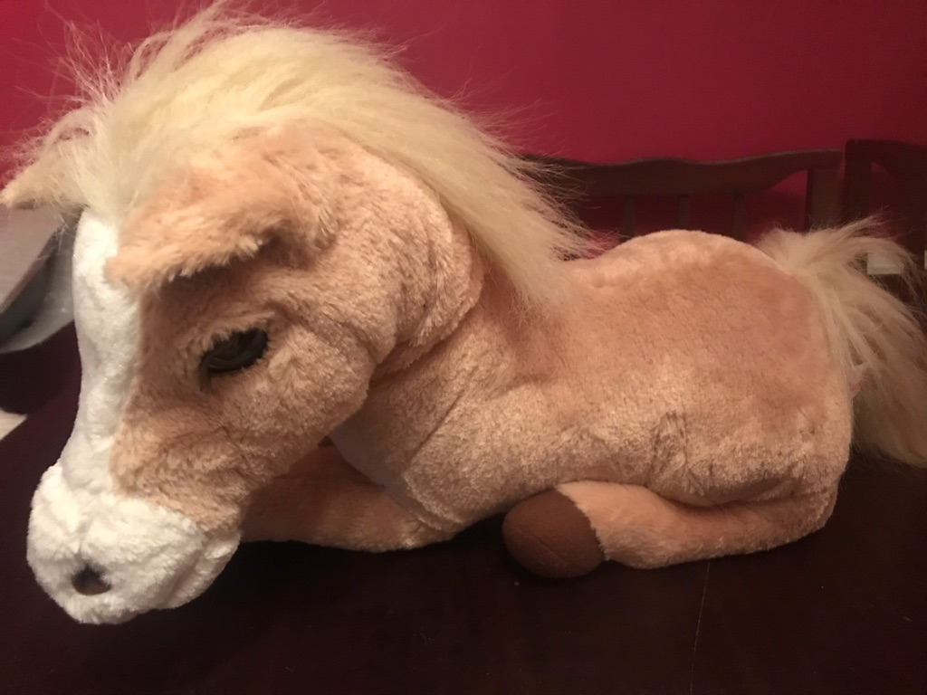 A Beautiful Children's Electronic Horse
