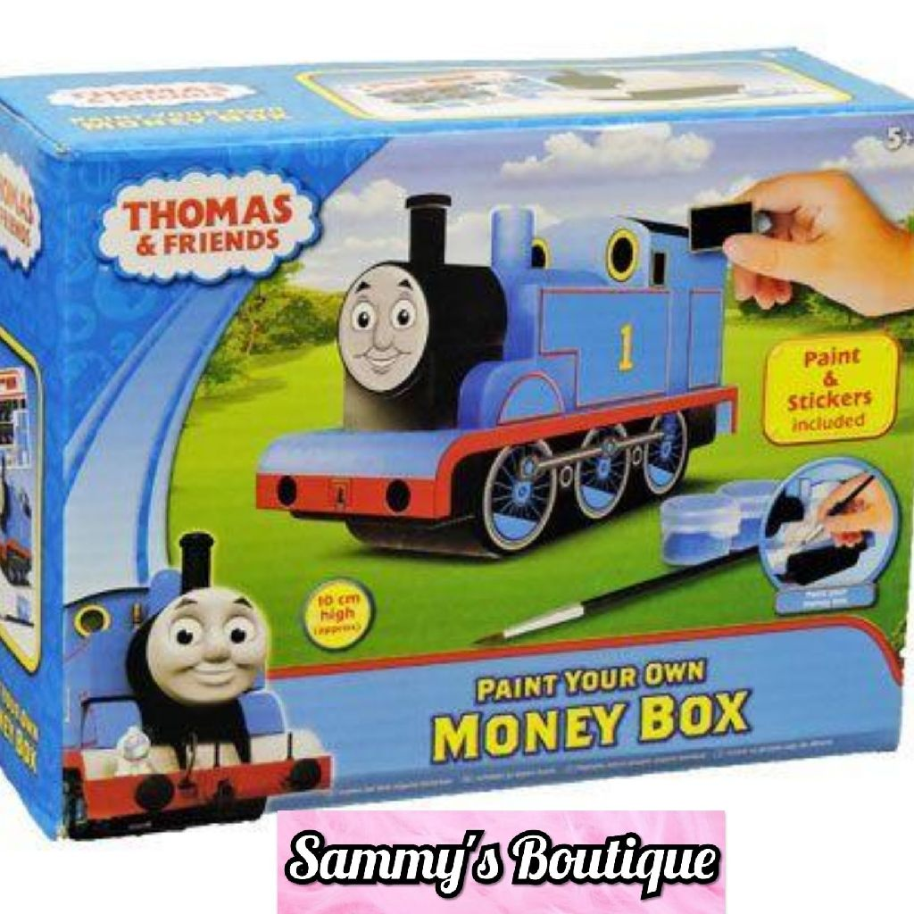 Thomas And Friends Paint Your Own Money Box