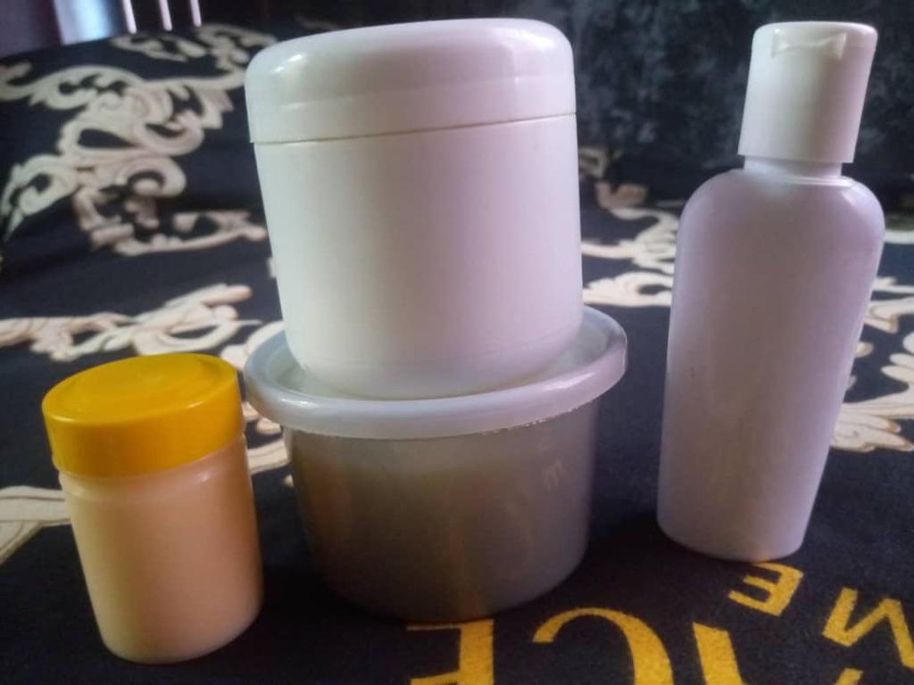 Egg face soap, whitening oil, whitening kit,