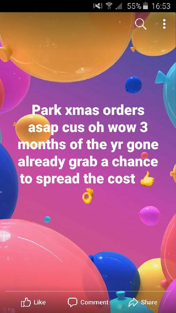 Park xmas club 2019
