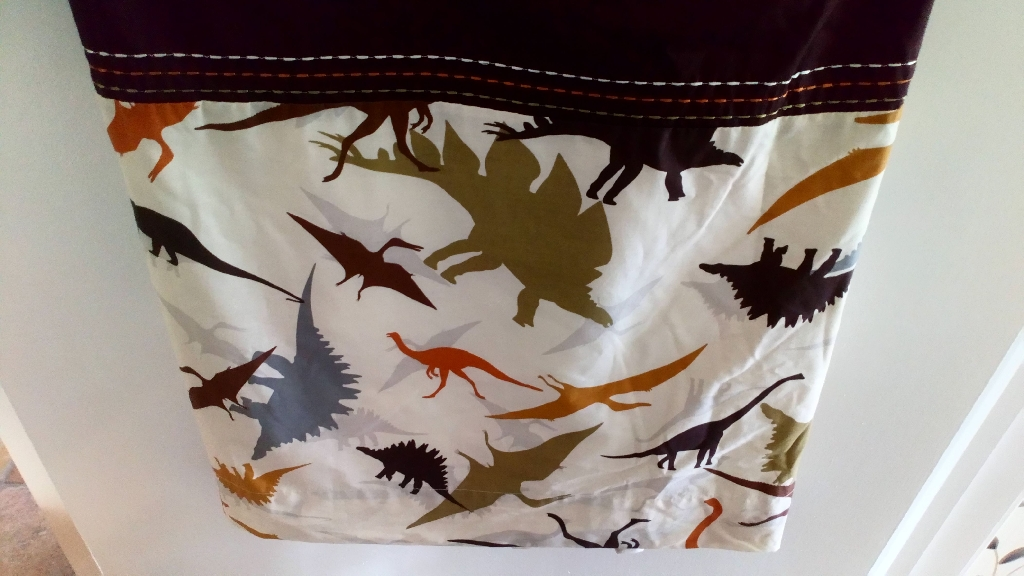 Next, Dinosaur Curtains