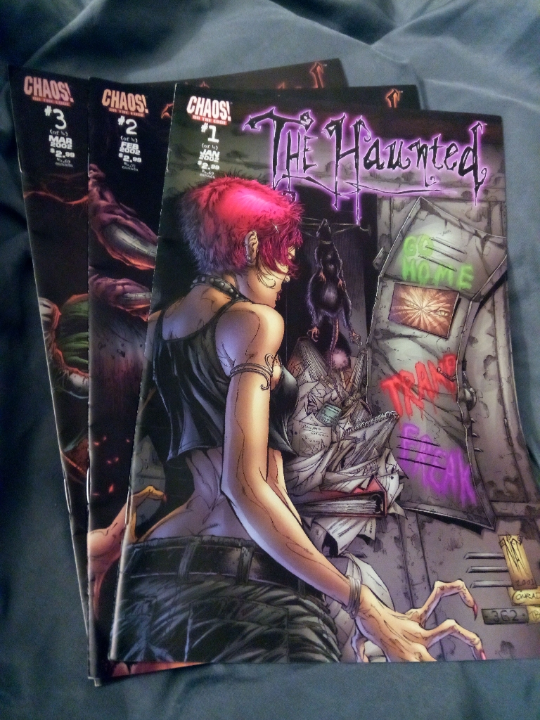 The Haunted - first three issues