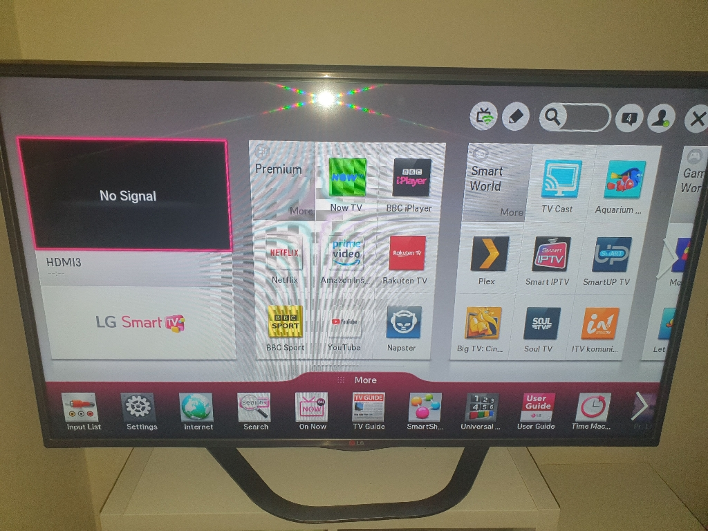 "LG 47"" Smart TV"