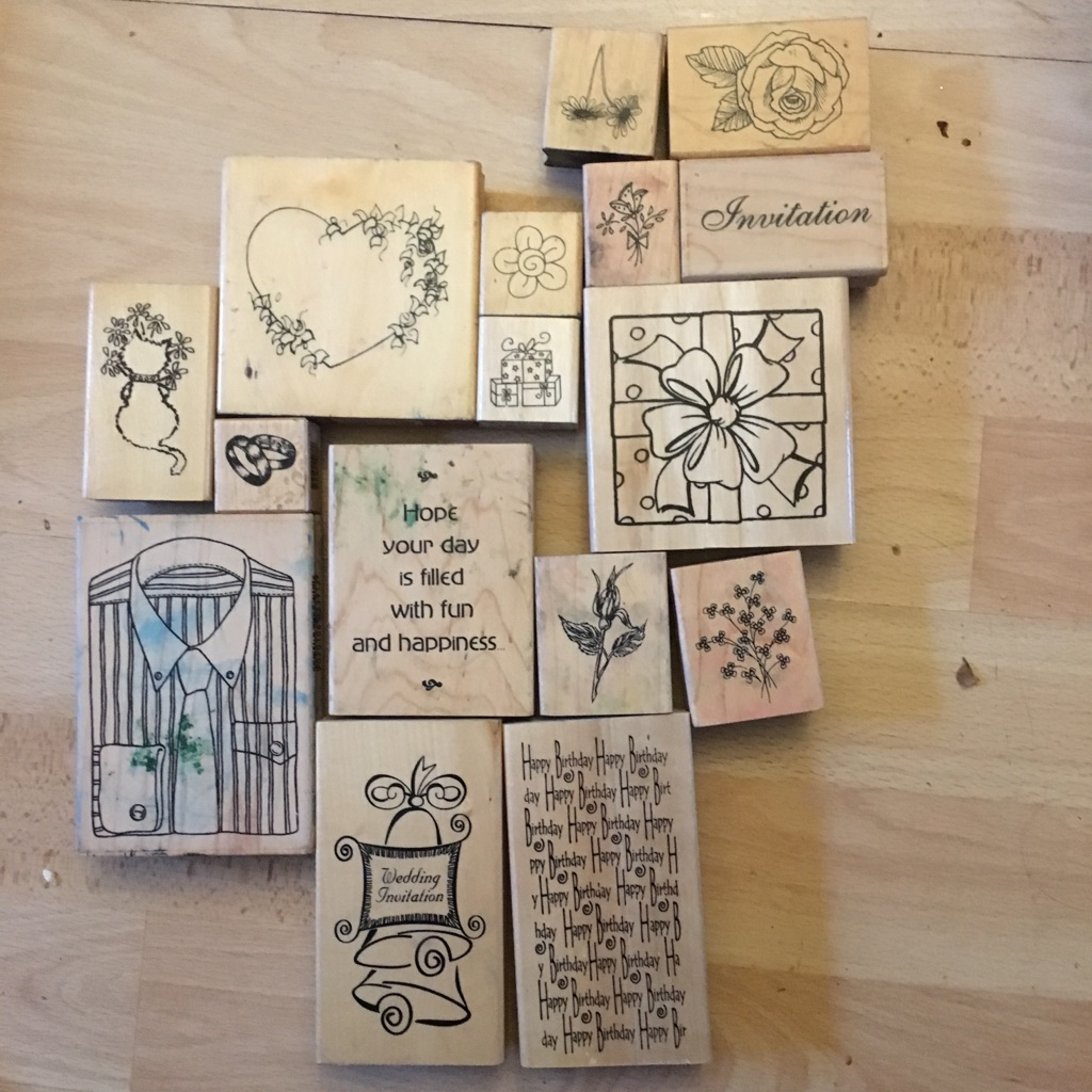 15 stamps card making Scrapbooking