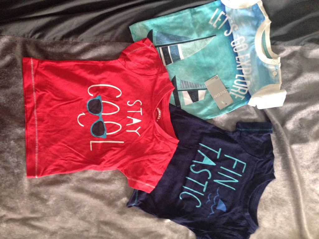 Boys shorts and tshirts 3-6