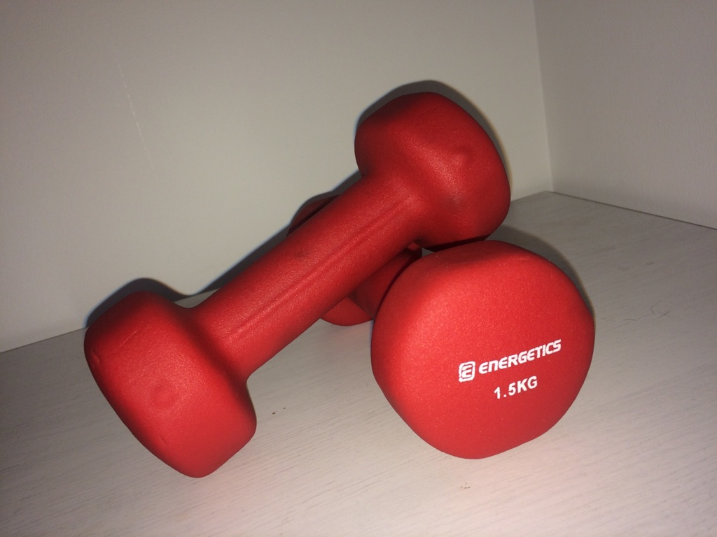 Two 1.5kg weights