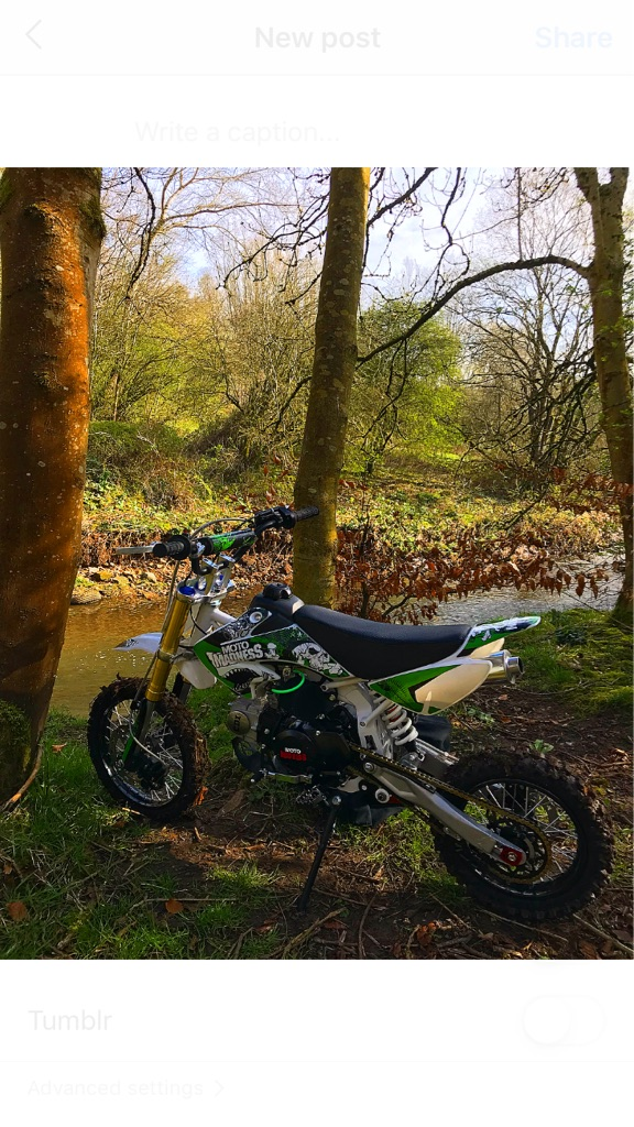 Outlaw 125cc Pitbike