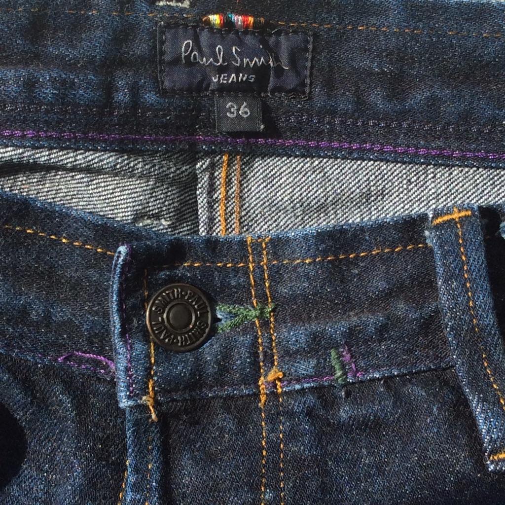 PAUL SMITH designer jeans 36 W