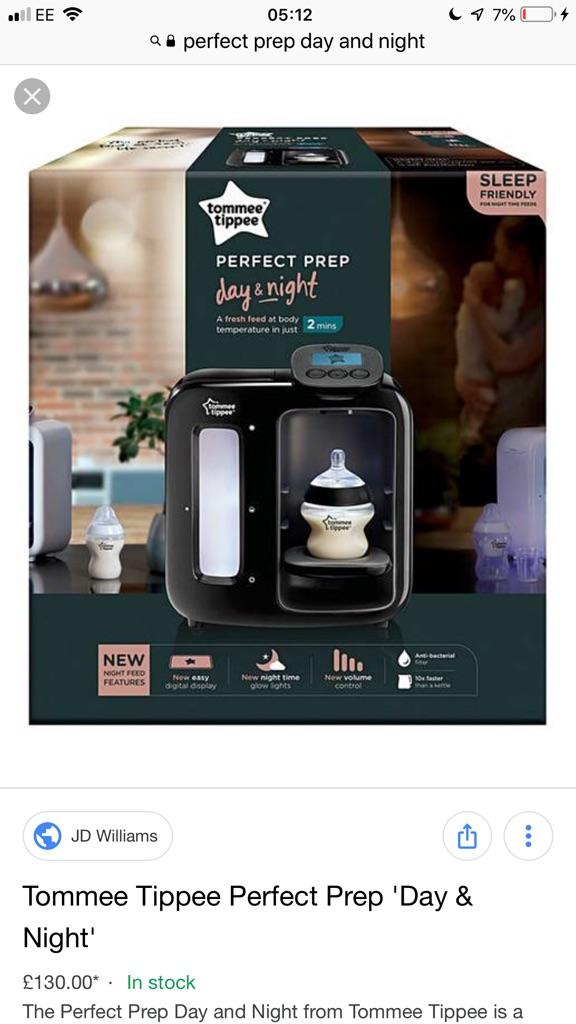 Day and night perfect prep machine