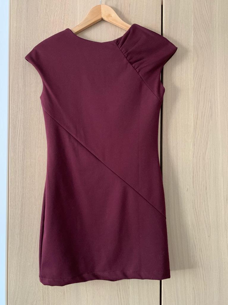 Burgundy mini dress - NEW
