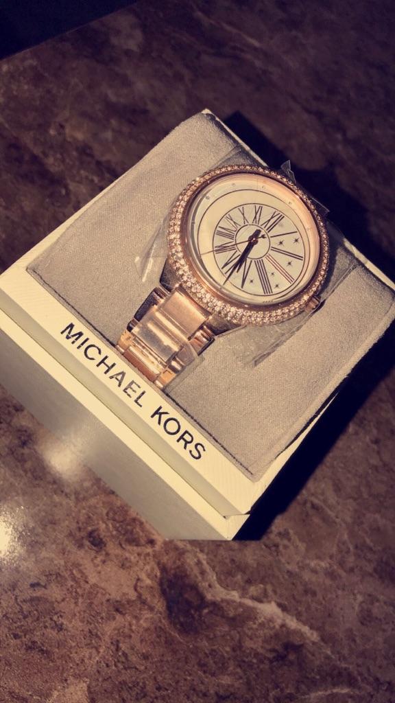 Michael Kors Watch Rose Gold for women